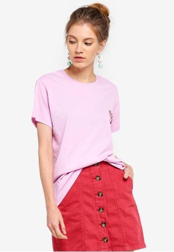 Cotton On pink Tbar Fox Graphic T-shirt 09BD4AA0D60417GS_1