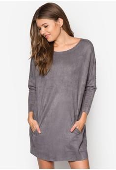 Coccon Suede Dress