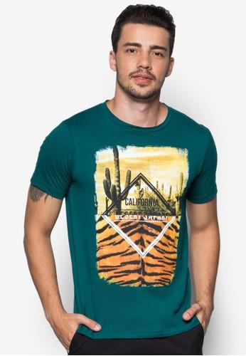 Short Sleeve Graphic Tee, 服飾, 印圖esprit台北門市T恤