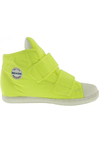 Maxstar Maxstar Women's 203 Dual Velcro Hidden Heel Canvas Casual Shoes US Women Size MA164SH40PWPSG_1