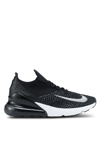 f4bcc11734 Nike black and white Nike Air Max 270 Flyknit Shoes 3B6E6SH0875811GS_1