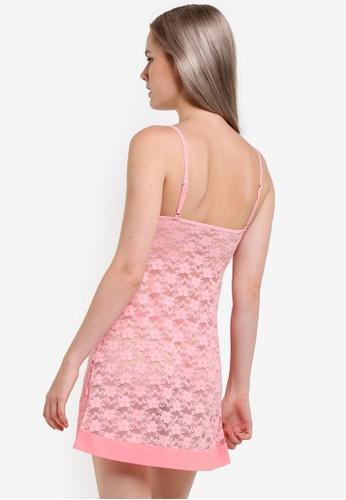 Buy Impression Lacy Night Dress Online on ZALORA Singapore d04f48570