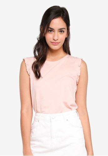 ONLY pink Signe Sleeveless Top BCEA4AAB9CCCAEGS_1