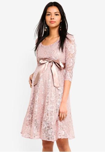 Tiffany Rose pink Maternity Freya Dress Short A8CCEAA29BE919GS_1