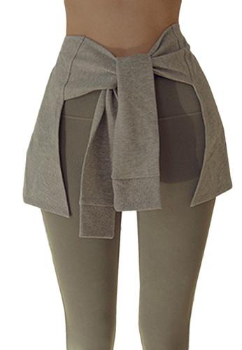 Sunnydaysweety grey Yoga and Sports Hip-Hiding Cover A21031711GY A8B4CAA80D37B6GS_1