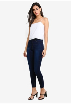 9a3183a4740 30% OFF MISSGUIDED Lawless High Waist Superstretch Jeans RM 125.00 NOW RM  87.90 Sizes 6