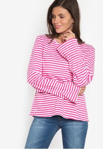 Verve Street pink Mica Long Sleeves Top VE915AA10ATXPH_1