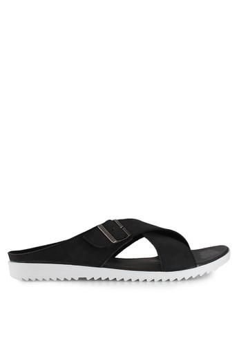 Dr. Kevin black Slip Ons & Espadrilles Sandals DR982SH0VF2VID_1