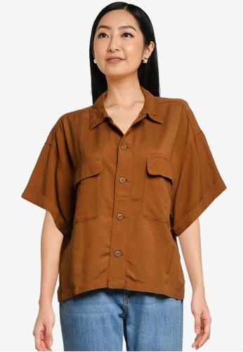 niko and ... brown Utility Shirt 2608CAA739FAC9GS_1