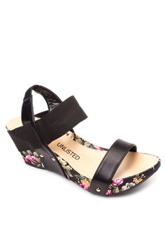 Clover Wedge Sandals