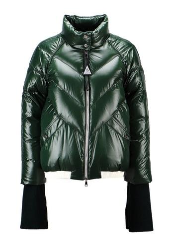 "Moncler green Moncler Genius 2 1952 ""Yalou"" Down Jacket in Green 8E6BBAA20957B1GS_1"