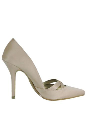 Jacque beige Catherine Nude Heels JA262SH38LYFMY_1