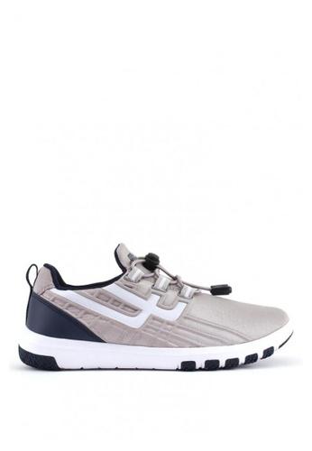 World Balance grey Freedom Flare L Sneakers F82D9SHC254608GS_1