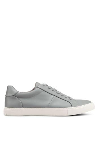 Topman grey Henri Lace Shoes 19BA6SH8ABE9A1GS_1