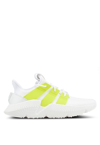 designer fashion dae4f 3c53c adidas white adidas originals prophere w sneakers 425CFSHEFEBE54GS1