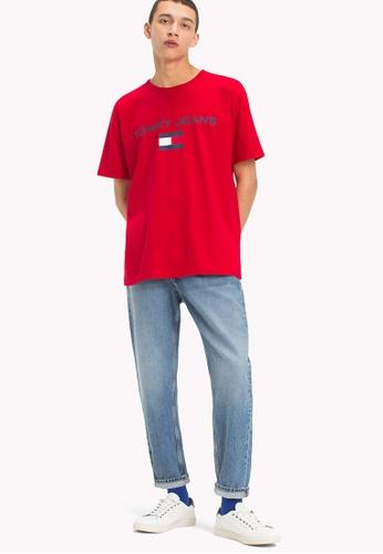 Tommy Jeans TJM 90s LOGO TEE 56F26AADCB5154GS_1