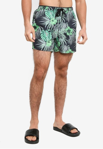 Only & Sons black Ted Swim Shorts 13D5CUSF1E7127GS_1