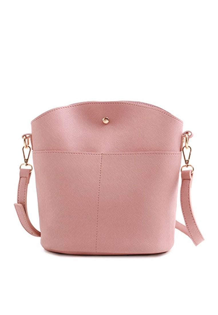 Textured Minimalist Sling Bag