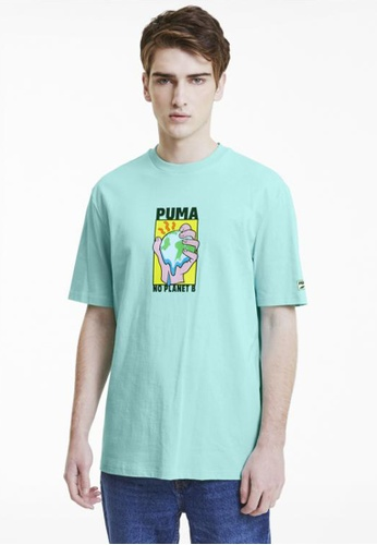 Puma blue Downtown Graphic Men's Tee 3BDD0AA65E7D9BGS_1