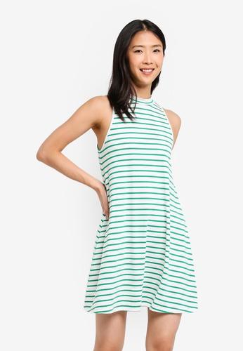 ZALORA BASICS white Basic Sleeveless Dress 037C3AACC1A025GS_1