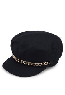 a9723c70246 Miss Selfridge Burgundy Corduroy Baker Boy Hat S  29.90. Chain Trim Baker  Boy 2BF00AC2CACB0FGS 1