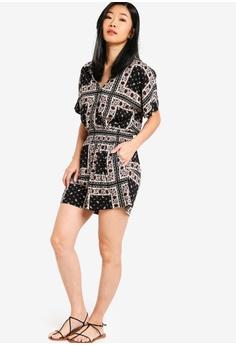 40% OFF Something Borrowed Kimono Sleeves Playsuit RM 95.00 NOW RM 56.90  Sizes XS 46b7a92e4