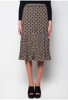 SBT Davine Printed Skirt