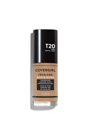 TruBlend Matte Made Liquid Foundation in Soft Honey T20