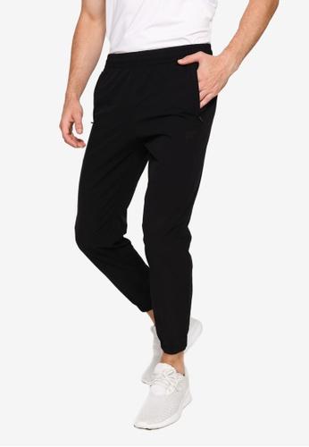 Anta black KT Woven Track Pants 39E68AAD441E76GS_1