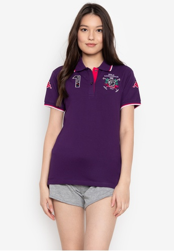 Kappa purple Riding Collection Polo Shirt F8642AA107C304GS_1