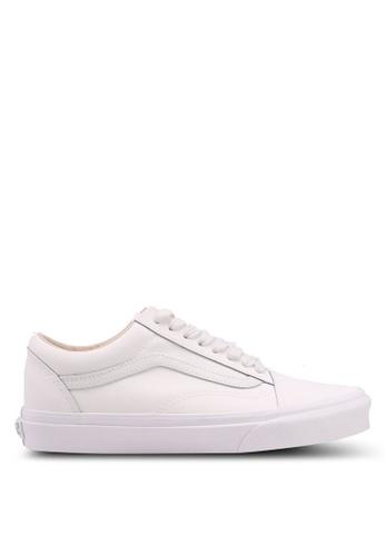 VANS grey Old Skool Vansbuck Sneakers 7BF8ESHFCBEAE4GS_1