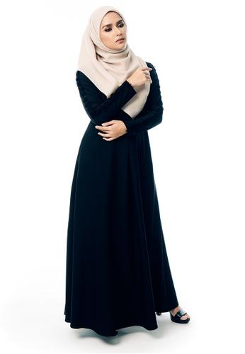 b8a6490a07 Buy Imaan Boutique Halwa Dress Black Online | ZALORA Malaysia