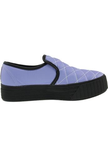 Maxstar purple Maxstar Women's C30 Stitched PU Platform Slip On Shoes US Women Size MA164SH20QQPSG_1