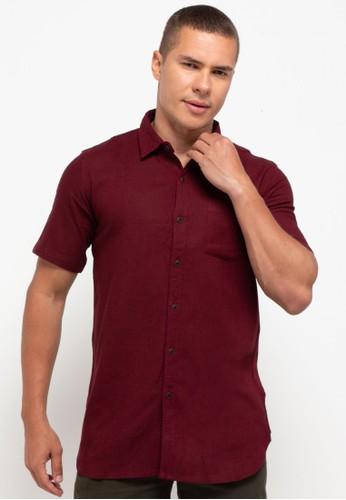 OLLten red O/L-Men Shirt 86213AA2E8D942GS_1