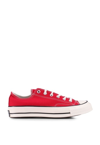 Converse red Chuck Taylor All Star 70 Vintage Canvas Ox Sneakers 4C03ESHDCDD081GS_1