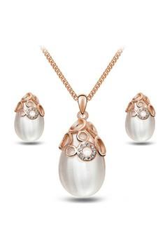 Heelstar Pearl Accessories Jewellery Sets