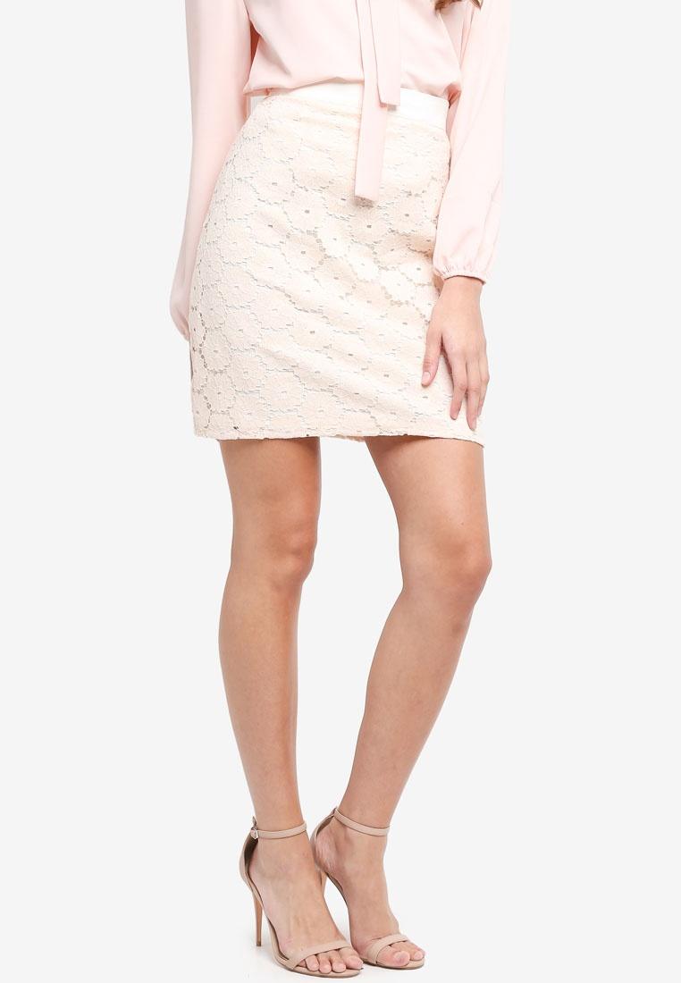 Skirt Cream Lace Crochet Vesper Laurie Vesper 8SwqOv1RY