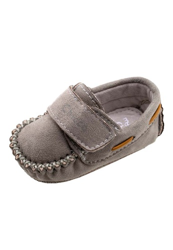 Chicco grey Olivio Infant Shoes 58D30KSAD0B96FGS_1
