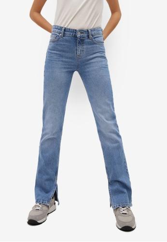 Mango blue Straight Opening Jeans EBF4BAA8EF99A2GS_1