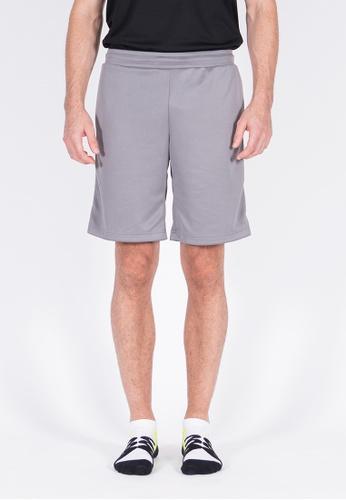 AMNIG grey Amnig Men Basic Training Short Pants A15FAAA68F8AAFGS_1