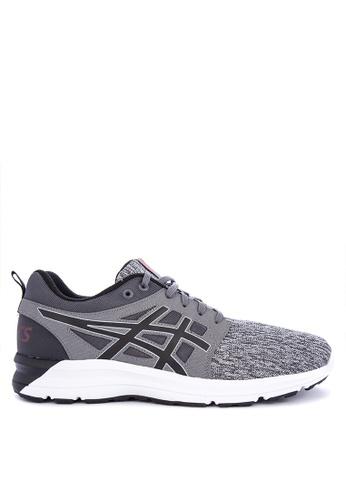 Asics grey and multi Gel-Torrance Running Shoes E62D4SHB281DA0GS_1