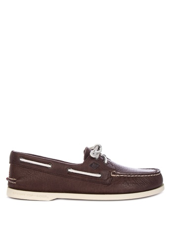 Sperry brown A/O 2-Eye Daytona Loafers A2030SH319AC0AGS_1