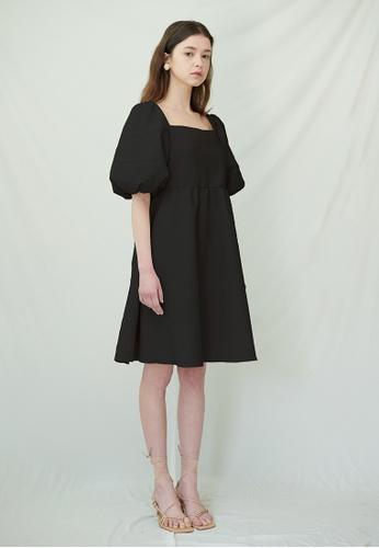 TAV [Korean Designer Brand] Old Bailey Dress - Black 41667AA4A16038GS_1