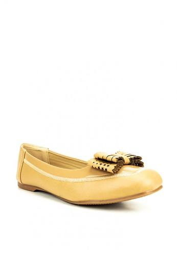 Mario D' boro Runway beige Becky Flat Shoes E0C78SH5946938GS_1