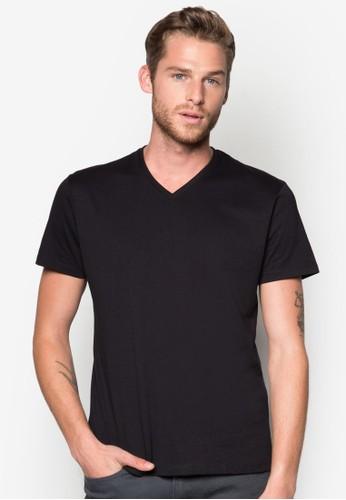 棉質V 領T恤, 服飾, esprit 香港T恤