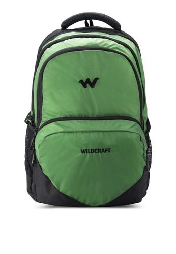 zalora 衣服尺寸Azi 撞色細節筆電後背包, 包, 電腦包