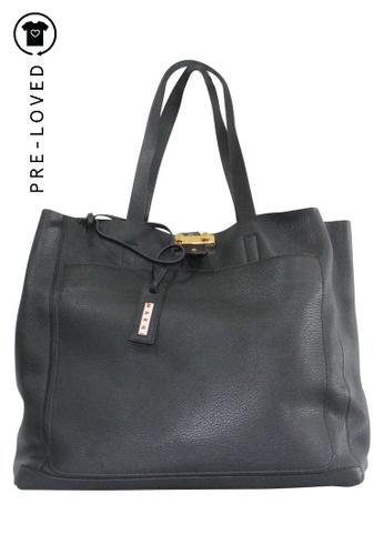 MARNI black Pre-Loved marni Marni Black Tote Bag 1710AACF4E4802GS_1