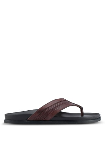ALDO brown Qyllan Sandals 412C2SH8637165GS_1