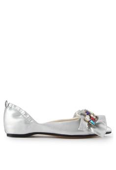harga Sepatu Wanita Flat Silver Zalora.co.id