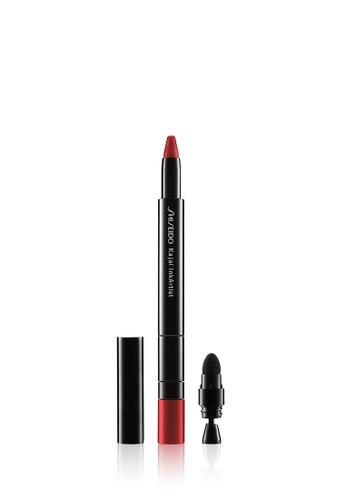 Shiseido red Shiseido Makeup Kajal InkArtist,03 Rose Pagoda C556FBE318C0C5GS_1